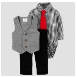 Baby Boy 4 Pc Formal Outfit